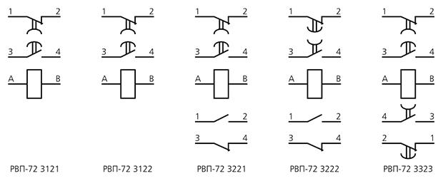 Схемы подключения реле времени