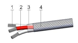 Кабель МЭ для подключения термопреобразователей сопротивления и термисторов