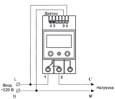 Рис.2 - схема подключения