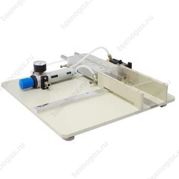 Фото приспособления для нарезания образцов картона СТИ-11