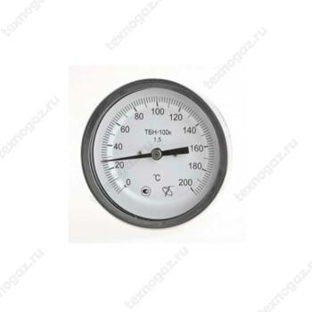 Фото термометра ТБП 100/100/Р (-0-200)С