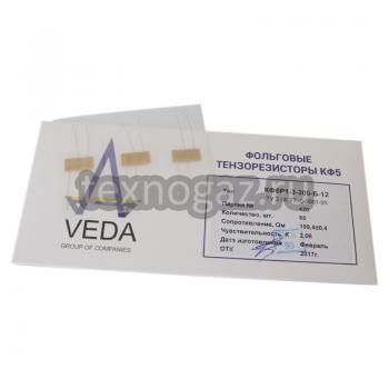 Тензорезисторы КФ5Р1-3-200-Б-12 и упаковка
