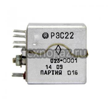 Реле электромагнитное РЭС-22 - фото