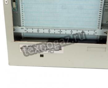 Регистратор бумажный КСД-2 - маркировка