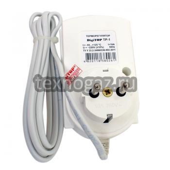 Одноканальный электронный регулятор температуры ТР-1 - вид сзади
