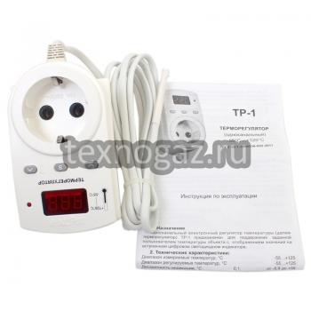 Терморегулятор одноканальный ТР-1 и инструкция