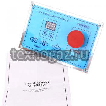 Блок управления от тестомеса «Интервал 01» и паспорт
