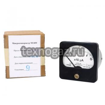 Микроамперметр типа М1400 и упаковка