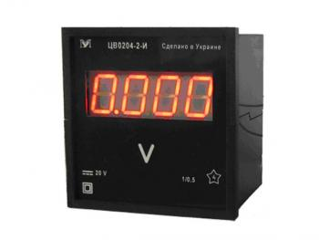 Вольтметры ЦВ0204