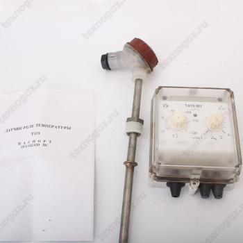 Датчик реле температуры т419 - фото с паспортом