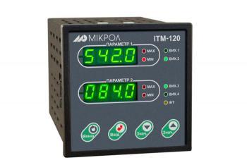 Фото двухканального микропроцессорного индикатора ИТМ-120У
