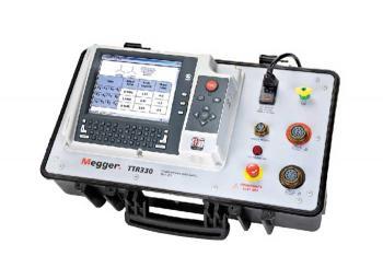 Фото измерителя коэффициента трансформации TTR300