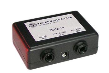 Микрофонный усилитель ПРМ-11