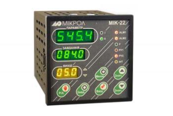 Фото микропроцессорного регулятора МИК-22