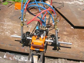 газорежущая машина Смена-2М - общий вид