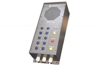 Фото пульта громкоговорящей избирательной связи ИТС-5