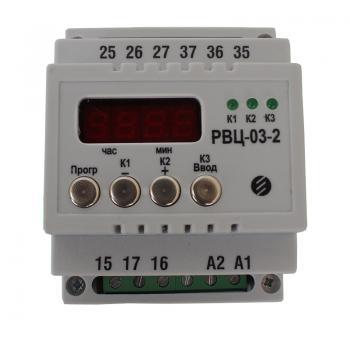 Реле времени (программный таймер) РВЦ-03-1 и РВЦ-03-2 - фото 4