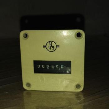Счетчик времени 2СВ-01 - фото