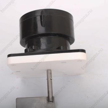 Сигнализатор уровня ротационный ДР-01 - вид сбоку