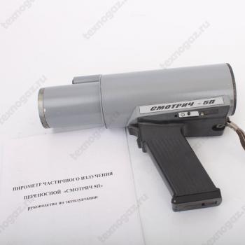 Смотрич 5П-01 переносной пирометр - фото с руководством