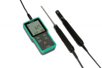 Фото термогигрометра-логгера RIXEN TH-3800 kit