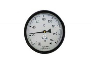 Фото термометра ТБП 100/100/Р (-0-160)°С