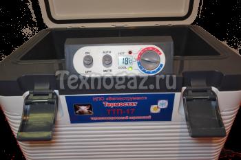 Термостат переносной  ТТП-17 - панель приборов