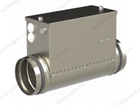 Электрический канальный воздухонагреватель для круглых каналов Канал-ЭКВ-К фото 1
