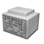 Фото Малогабаритный трансформатор для печатных плат ТН 30/12 G