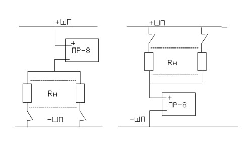 Пульс-реле ПР - схема Для