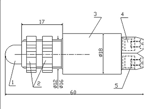 Схема-чертеж АСКМ-С-12-50мА-4К
