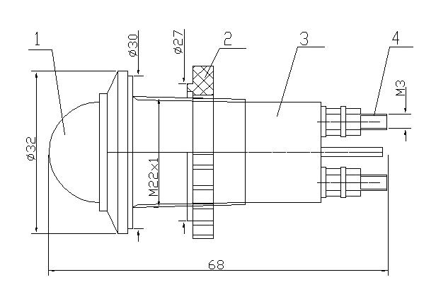 Схема АС-С-22-3х380и АС-С-22-